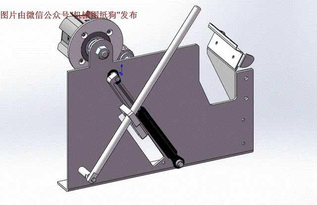 【工程机械】手动撕胶机内部结构3d图纸 solidworks设计