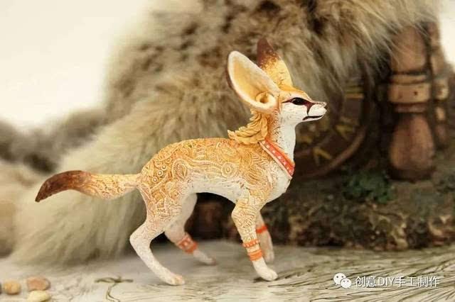 60 神奇的梦幻般的动物粘土作品