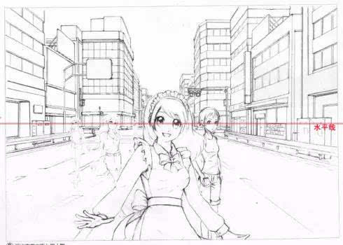 绘画基础学习—— 一点透视