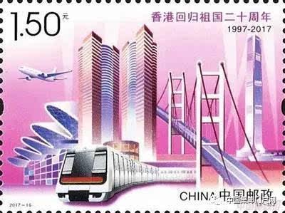 卡册为手绘明信片,设计内容选取了维多利亚港湾,会展中心,港珠澳大桥