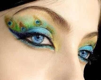 生活日妆,新娘妆,创意新潮妆的眼影你不一定都会!