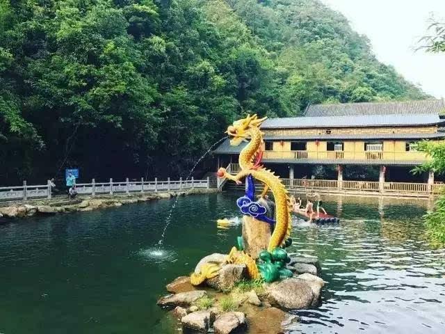"""十八水——""""岭南九寨沟""""之称,广西最高的叠水瀑布群 亲水之夏,从贺州图片"""