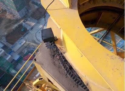 塔吊回转结构内部图解