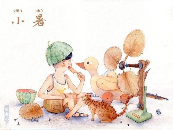 感谢木壳人授权使用手绘图片素材