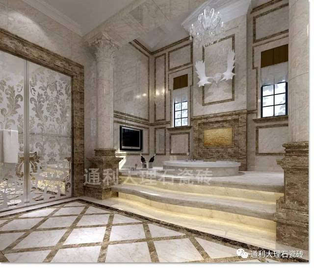 罗马玉 | 一石多面,多样化工艺,大理石瓷砖整装全屋搞定