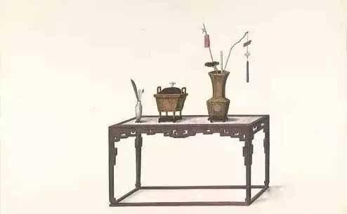 清代手绘家具图-文化频道-手机搜狐