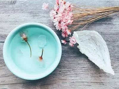 燕窝食谱|亮肤嫩肤之樱花蜂蜜燕窝最美发型图解图片