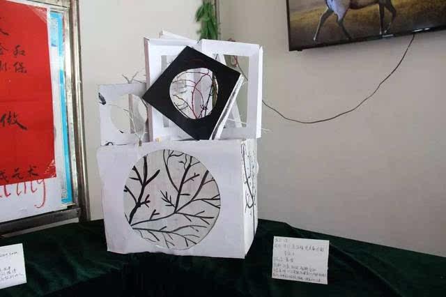 创意信传丨立体构成小作品展:一件事 一群人 一起做