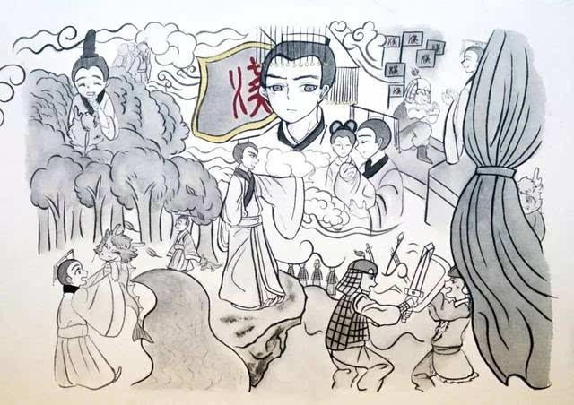 动漫 简笔画 卡通 漫画 手绘 头像 线稿 640_452