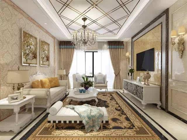 欧式风格装修,通常搭配有优雅线条沙发脚的沙发,材质方面有皮艺,布艺