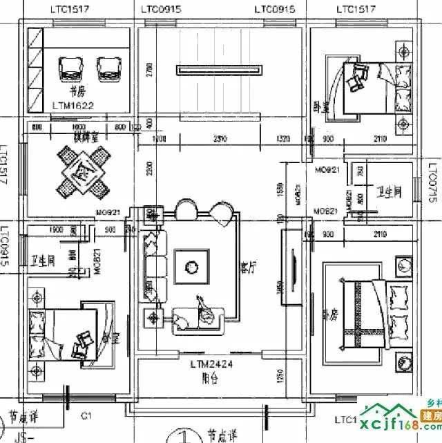 堂屋在左边设计图