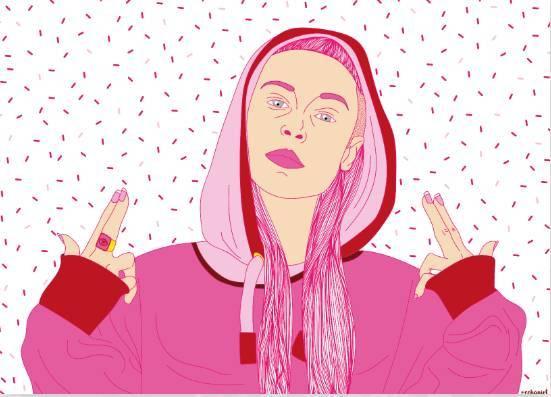 独家专访 | chloé chaniot:虽然我是粉色的,但我也很酷!图片