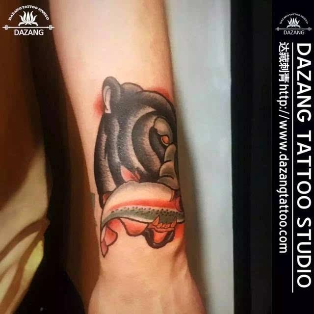 一只花臂纹身价值竟堪比汽车!温州7位刺青师揭秘身体的故事图片