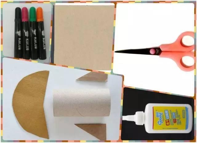 手工丨幼儿园小火箭制作教程图片