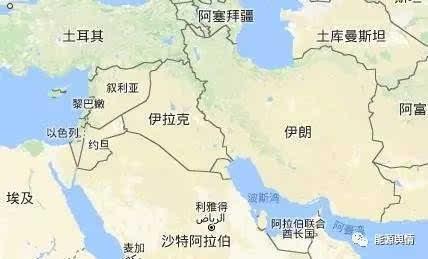 所以伊朗在地理上妥妥地占据了优势.图片