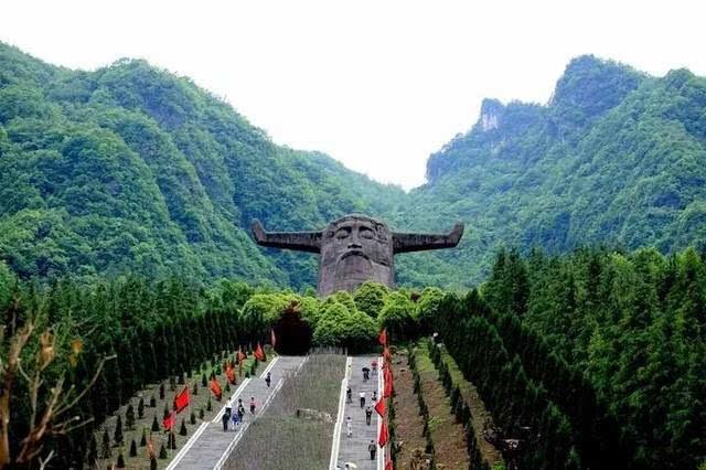 神农架原始森林神秘莫测图片