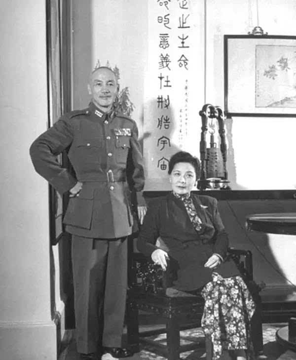 1940年4月7日,宋氏三姐妹相聚于重庆.图片