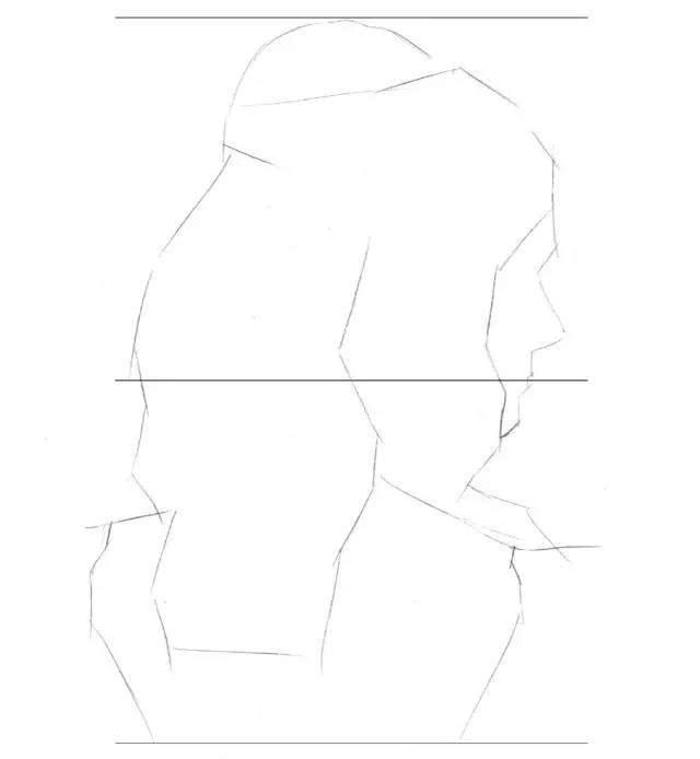 虹孩儿插画教程| 手绘女神发型