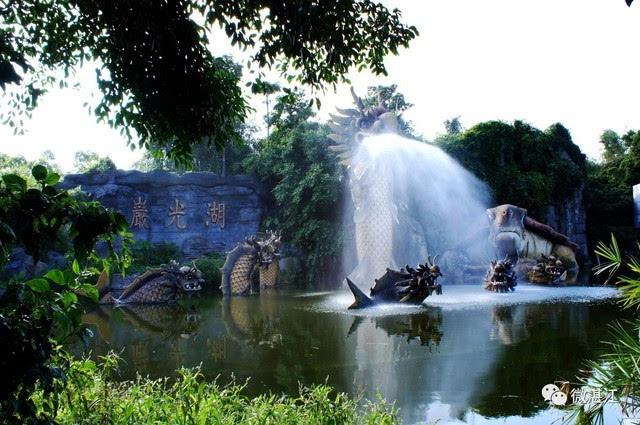 97年,湛江人游玩的风景名胜不多