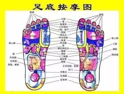 """人体""""第二心脏""""脚底养生7法!附足部反射区穴位图"""