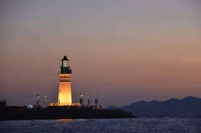 海参崴的灯塔我们青岛也有