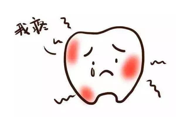 牙好痛图片大全 牙疼崩溃图片可爱