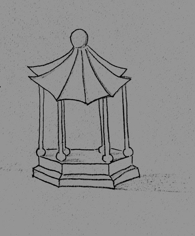 简笔画 手绘 素描 线稿 640_773