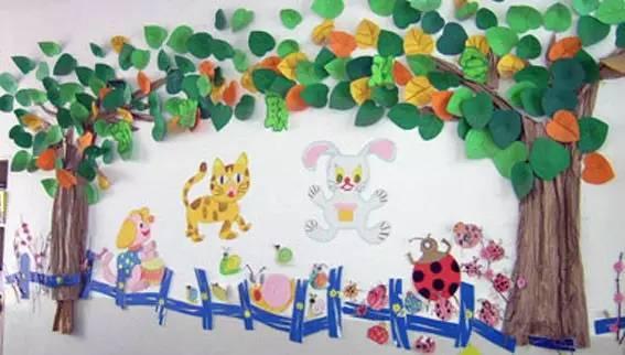 精美的幼儿园贴画 新学期装饰教室用