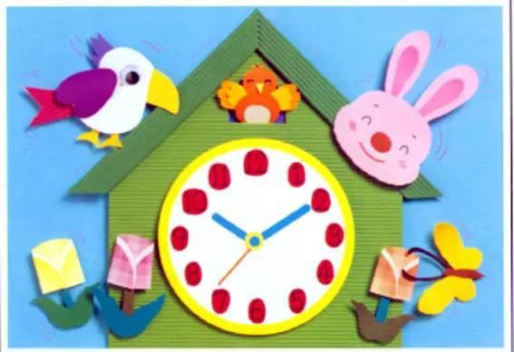 精美的幼儿园贴画——新学期装饰教室用