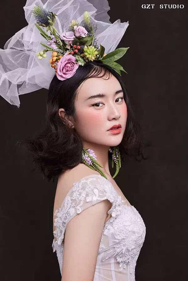新娘造型大片,创意,森系,复古,美到犯规啊!图片