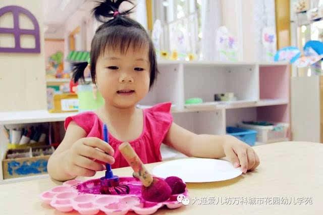 儿童手绘折扇画diy