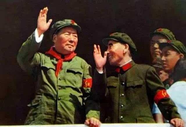 文革手绘林彪宣传画