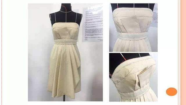 高级时装设计进修班——《服装立体裁剪基础》作业展示图片