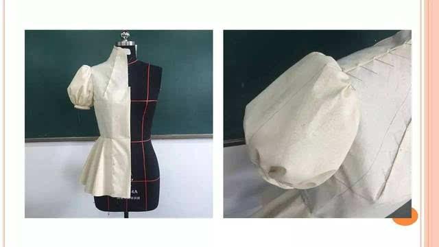 高级时装设计进修班——《服装立体裁剪基础》作业展示