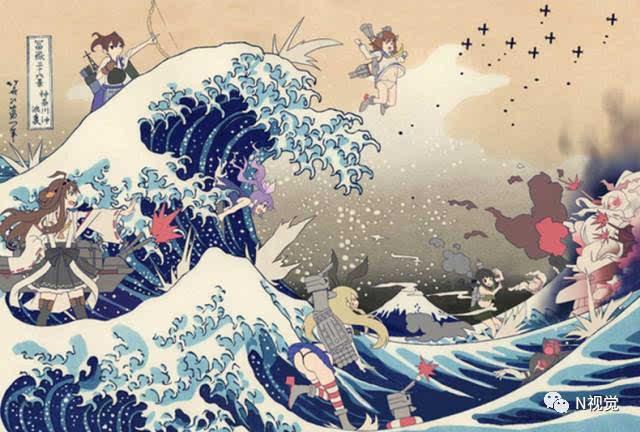 """【艺术与设计】""""活在当下""""&《神奈川冲浪里》情结"""