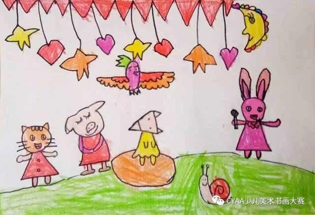 儿童手工diy动物图片