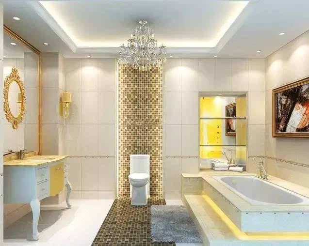 别墅装修设计,马赛克拼贴瓷砖的墙上艺术