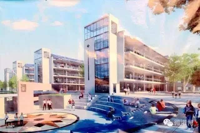 2 学校位置 启秀市北学校位于港闸区上海市北高新(南通)科技城内幸余