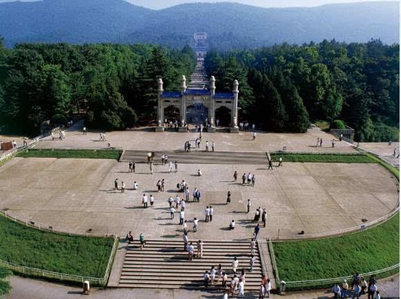 中山陵作为南京标志性景点图片