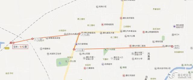 遵化城区最新规划图