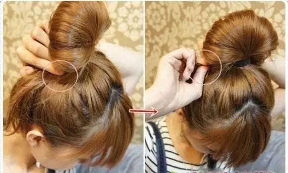 绝美花苞头扎发步骤 时尚盘发的详解图片
