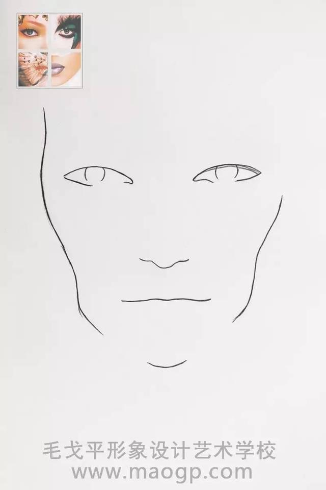 【原创空间】华丽手绘美人图——彩妆讲师 章琦