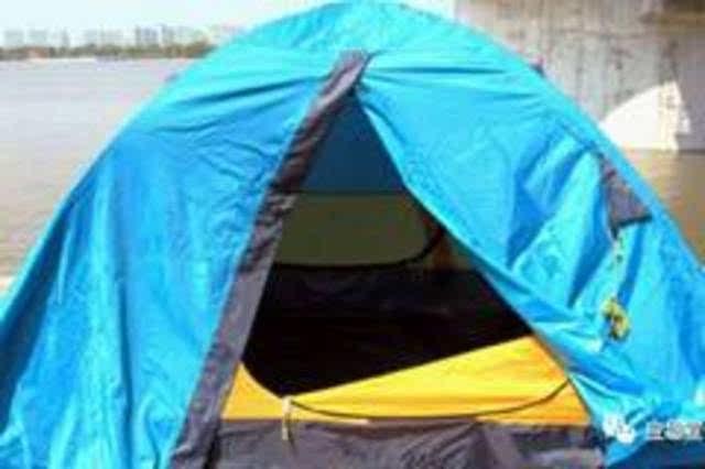 帐篷组装方法图解