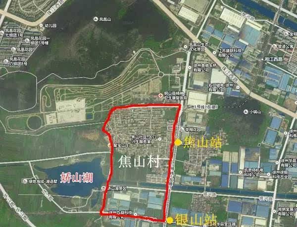 徐州市城东新区规划图
