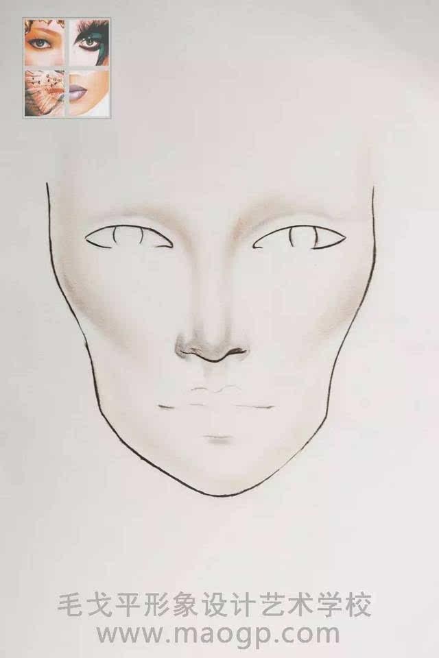 创意手绘缔造华丽美妆,相信很多人对美人图都有浓厚的兴趣.