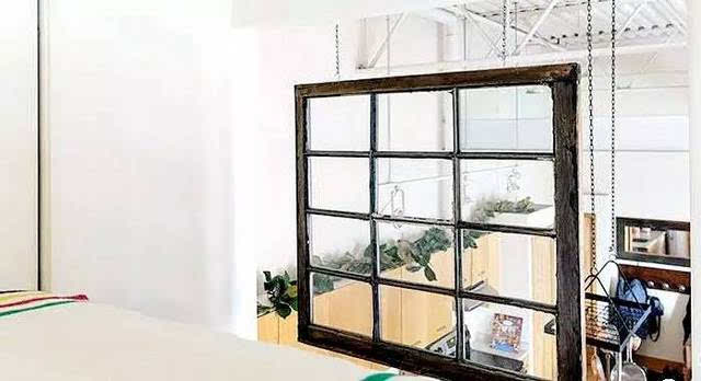 他俩用淘来的二手家具 打造木质感loft家居