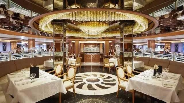 环球美食自助餐厅将提供全天候丰富美食.