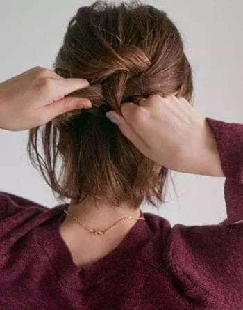 好看的短发烫发发型图片大卷 短发烫发教程详细步骤