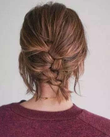 好看的短发烫发发型图片大卷 短发烫发教程详细步骤图片