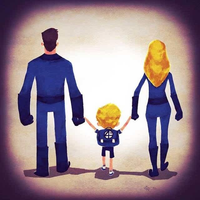 这时候,孩子常常对父母做出亲昵的举动,这个时候往往是父母与孩子沟通